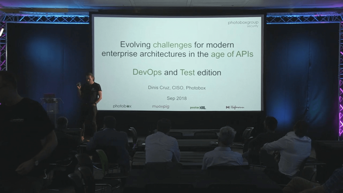 Evolving Challenges For Modern Enterprise Architectures in the Age of API's (London DDTM 27.09.18)