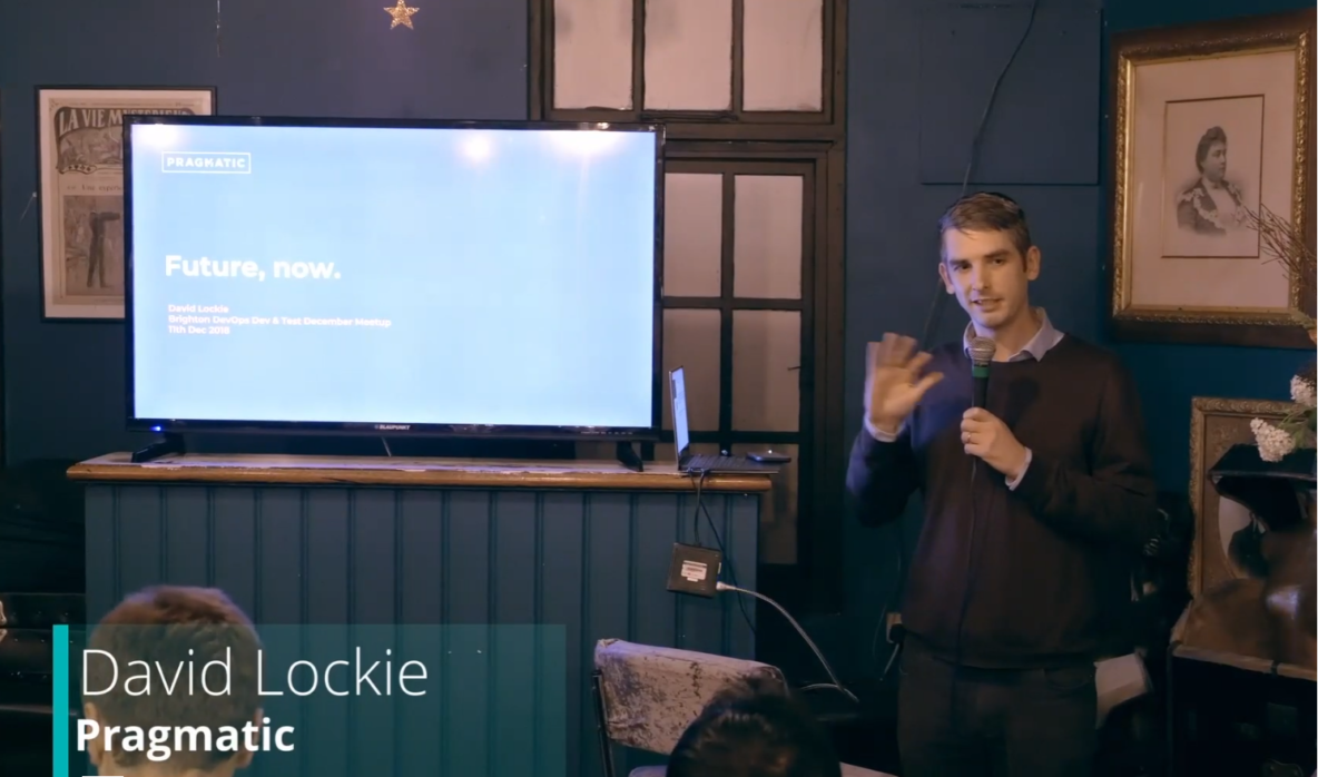 'Future, Now' - David Lockie, Founder of Pragmatic & Dcent